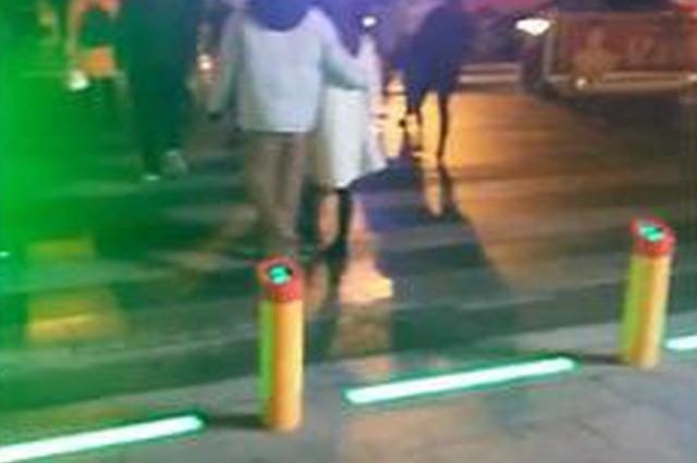 """大冶城区主要路口安装""""过街神器"""" 闯红灯会被喷水"""