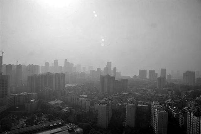 武汉受北方区域污染传输影响 空气质量快速转差