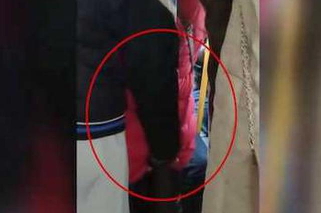 十堰一男子公交车上猥亵女性臀部 被乘客拍下全过程