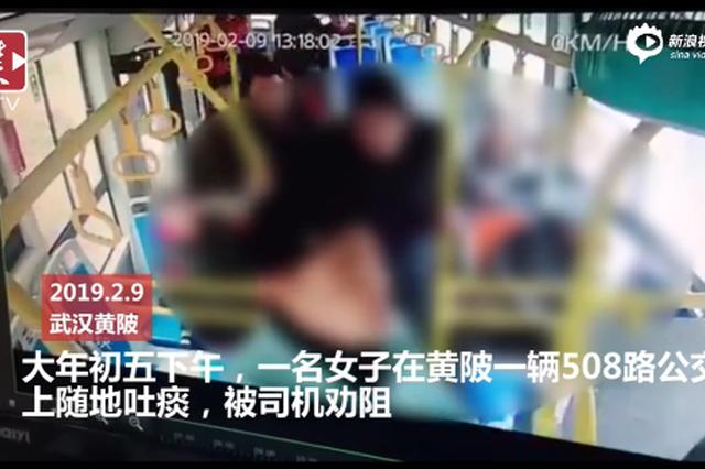 武汉公交司机劝阻乘客吐痰遭群殴 两名打人者已抓获
