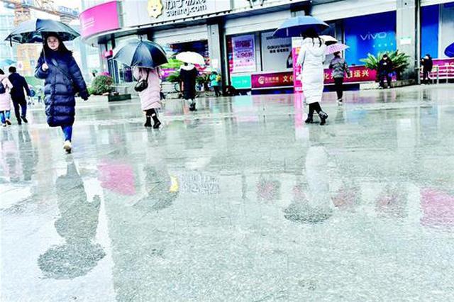 阴雨持续!湖北大部地区日照时数历史同期倒数第一