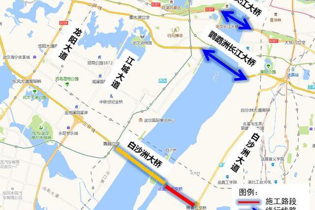 武汉三环线南段即日起施工3个月 绕行方案来了