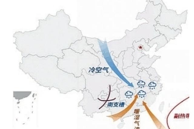 专家分析低温阴雨天原因 长江中下游冷暖空气频繁交汇