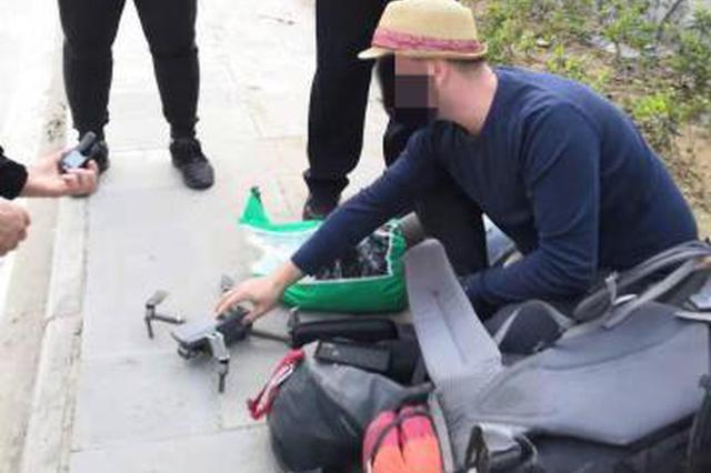 一名外籍游客非法放飞无人机拍摄三峡大坝受处罚