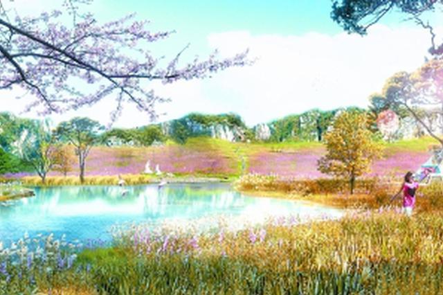 硃山再启生态修复 年内建成1500亩山体公园