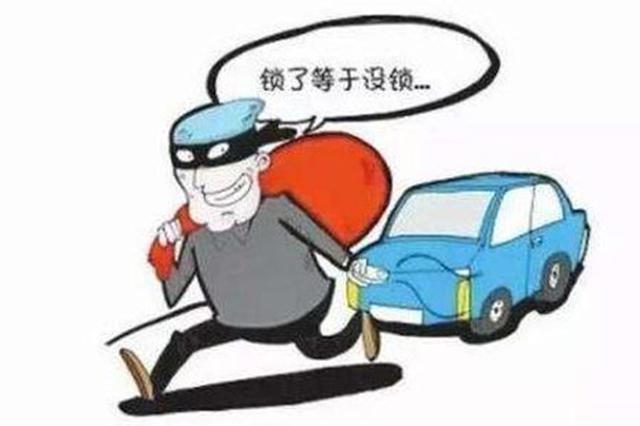 男子用干扰器干扰车门上锁盗窃钱财 数罪并罚获刑