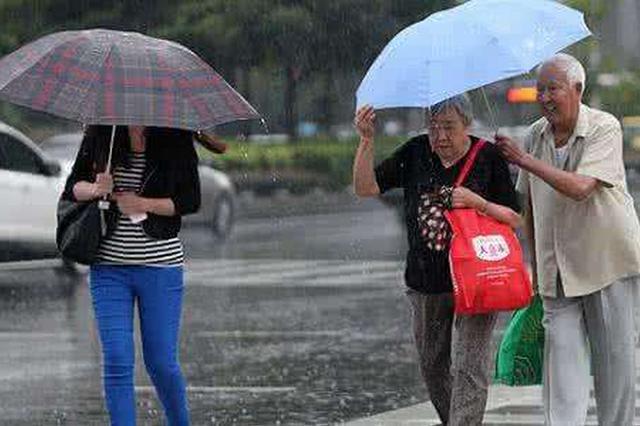 18日起武汉有中雨降温 还有雷电+4级北风