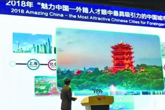近10万外籍人才投票 武汉再获外籍人才中国十强城市