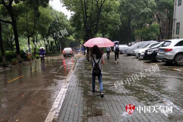 湖北发布暴雨橙色预警 武汉黄冈黄石有50毫米以上降水