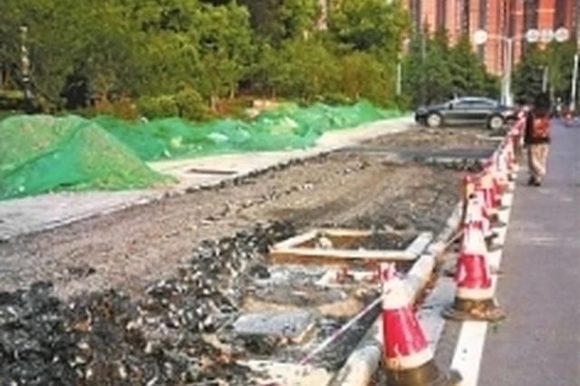 混凝土质量达不到海绵城市标准 汉阳一条马路被返工