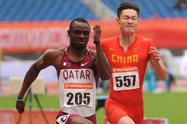 卡塔尔亚洲田径锦标赛:湖北吴智强100米获得铜牌
