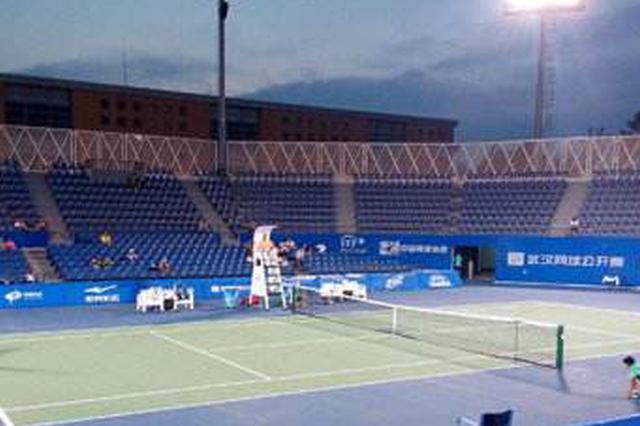 """国际网球巡回赛开赛 国内外高手武汉挥拍""""比武"""""""