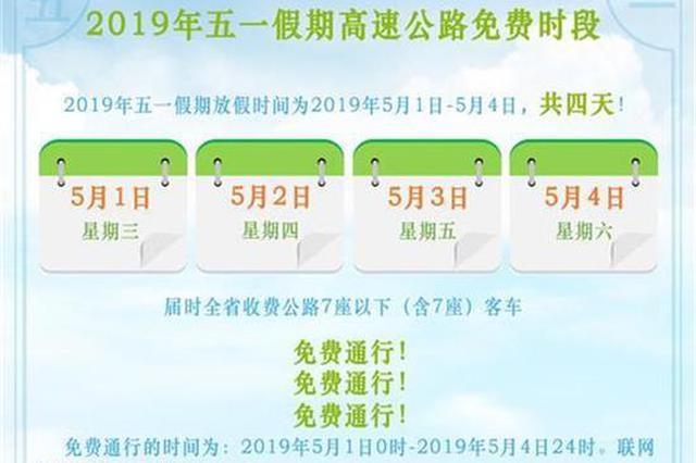 2019年五一假期湖北省高速公路出行?#25913;?#20986;炉