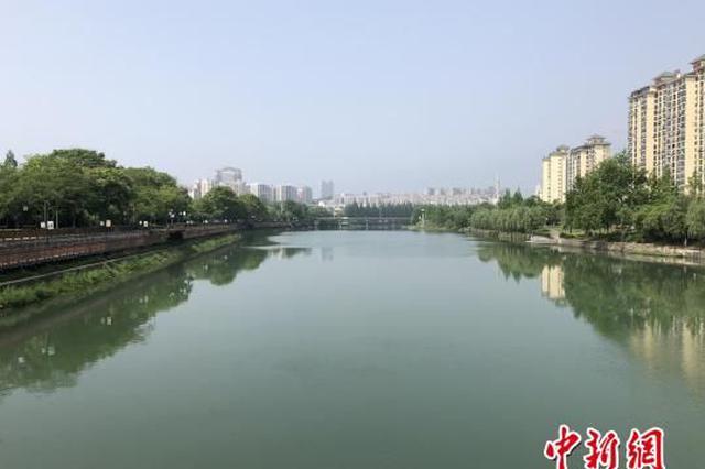 """宜昌城市水体全面除臭复清 """"龙须沟""""成景观河"""