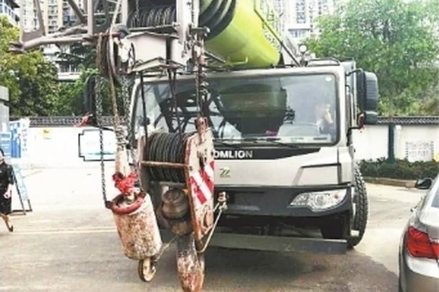 施工方未报备占道施工致道路拥堵 施工方负责人被拘