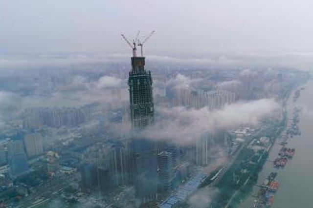 探访武汉第一高楼:中国超高层建筑背后的科技力量