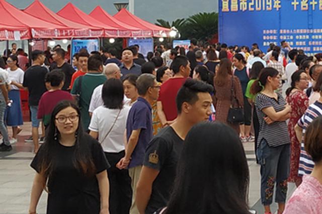 上半年宜昌市城镇新增就业近6万人 完成全年目标逾8成