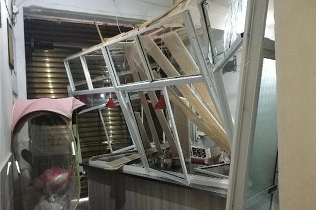 男子酒后驾车撞坏门面房 以为无人发现逃逸被抓