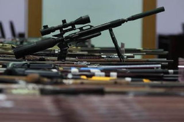 湖北去年以来破获枪爆案件1300余起 收缴枪支5000余支