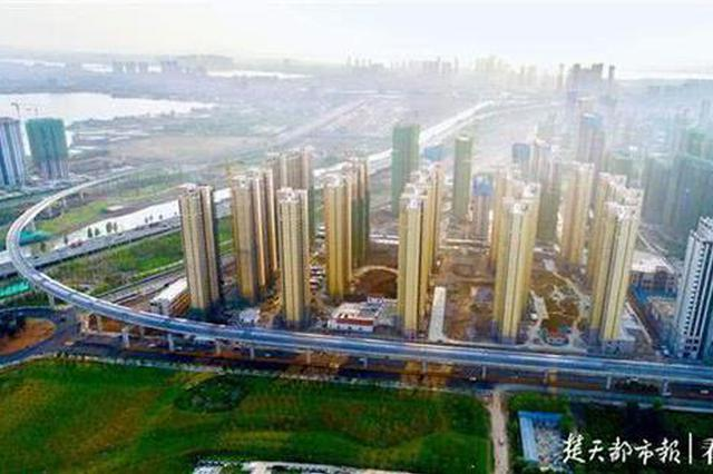 武汉地铁5号线高架段全线贯通 看经过你家门口吗