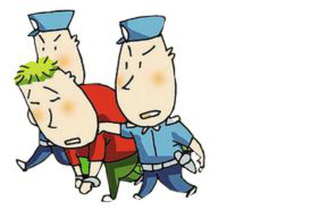 惯偷盗窃现场悠闲抽烟 警方通过小小烟头将其抓获