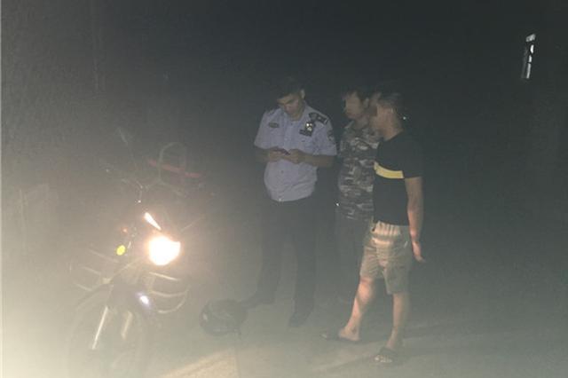 摩托车深夜被盗 民警通过GPS迅速找回