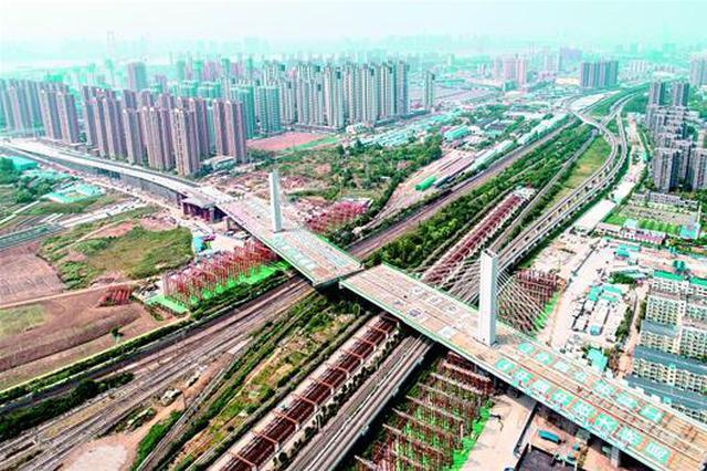 世界跨度最大、最宽转体桥成功转体 武汉杨泗港下月通车