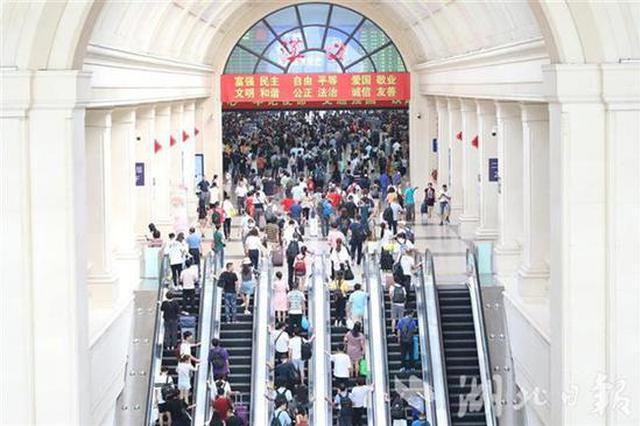 中秋武铁发送旅客229.7万人次 同比增长10%