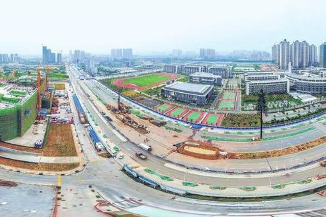 荆州最大市政工程建成 复兴大道实验性通车