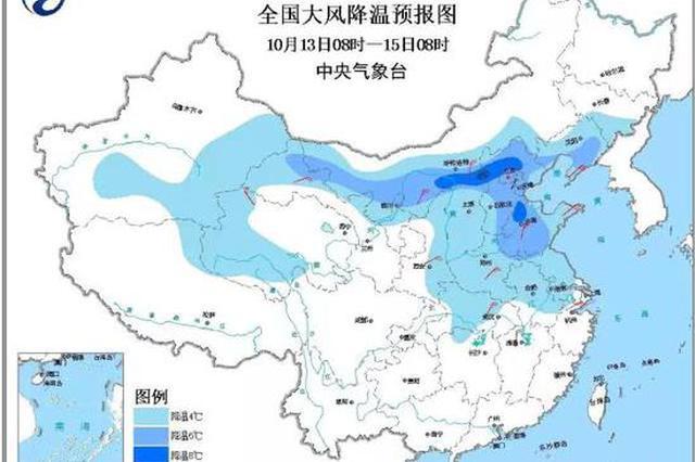 降温10℃+7级大风 湖北未来几天都是雨雨雨