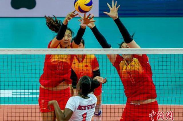 武汉军运会中国八一女排3:0击败巴西队获两连胜