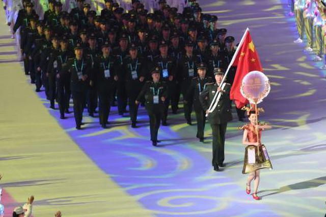 揭秘武汉军运会开幕式引导员的日常训练