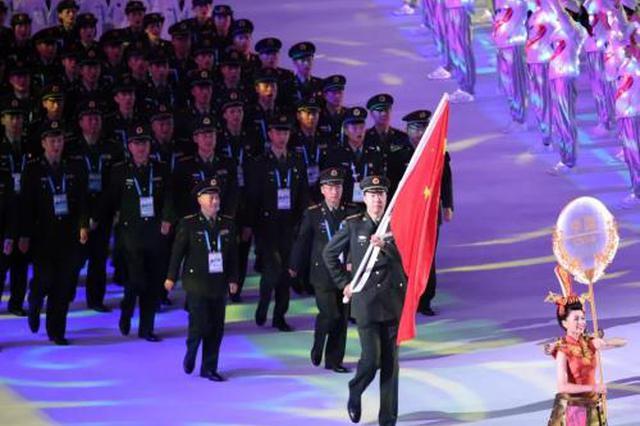 超燃!第七届世界军人运动会开幕 武汉惊艳世界