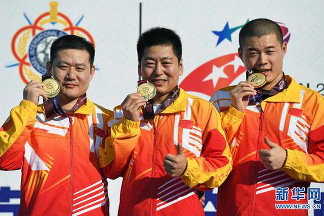 武汉军运会首个比赛日:中国队狂揽12块金牌