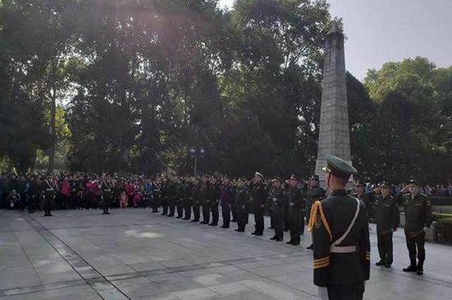 武汉这处刚获公布的全国文保单位 迎来俄罗斯大将致祭