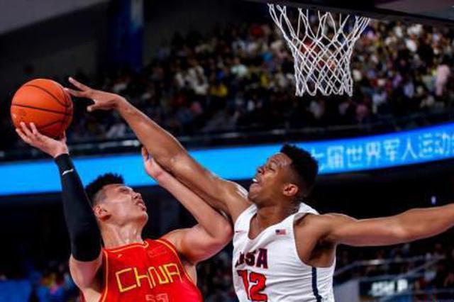 军运会:中国八一男篮98-79击败美国队 收获两连胜