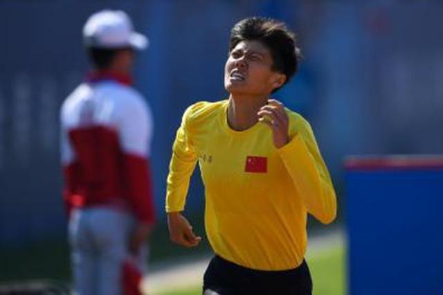 卢嫔嫔打破军事五项女子个人全能障碍跑世界纪录