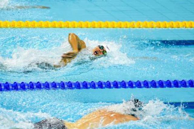 武汉军运会:中国游泳军团再添6金 打破3项赛会纪录