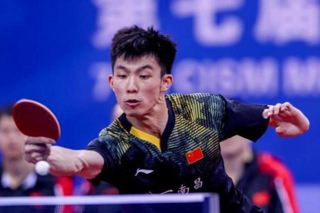 中国八一队击败朝鲜队斩获军运会乒乓球男团冠军