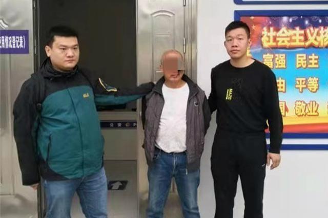 """男子伤人后潜逃8年当""""和尚"""" 警方将其抓获依法刑拘"""