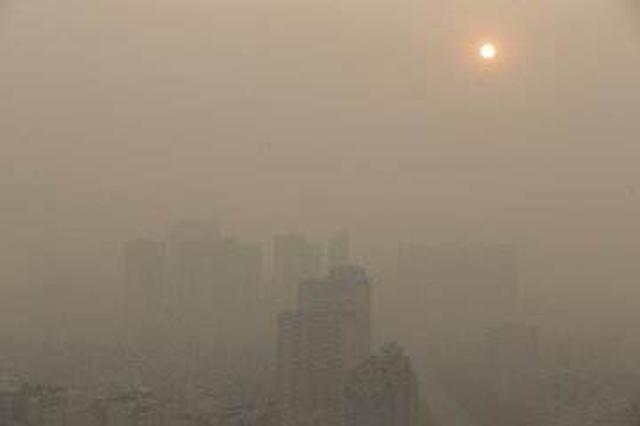 湖北持续出现近地强逆温 部分城市空气达到重度污染