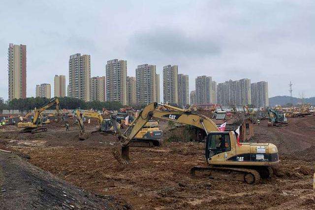 """武汉半月内将再建一个""""小汤山""""医院 新增床位1300张"""