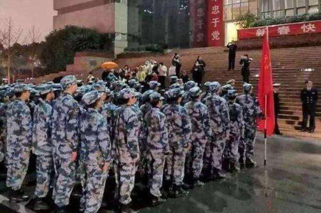 解放军3支医疗队抵达武汉后有序展开工作