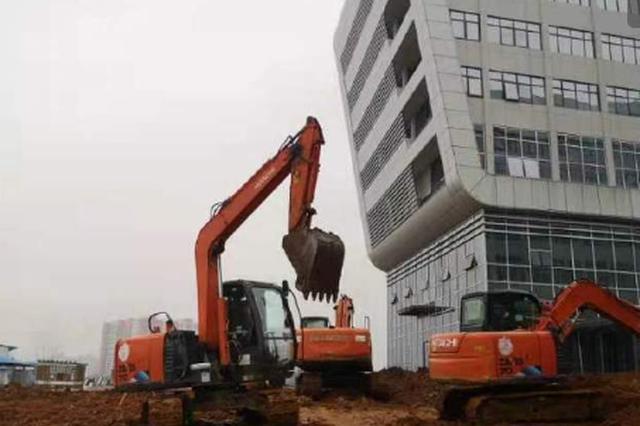 湖北黄冈48小时改建本地小汤山医院 集中收治发热患者