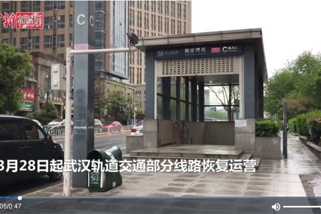 """武汉战""""疫""""记:重启驶向""""春天""""的地铁"""