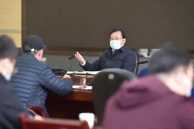 王忠林:坚持外防输入内防反弹 加强社区防控措施落实