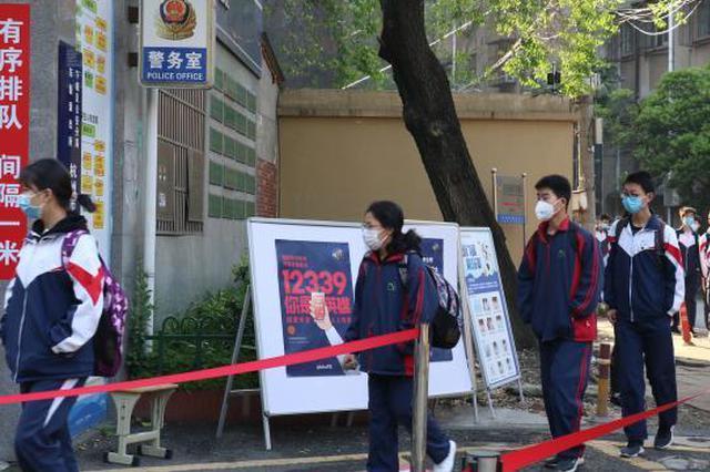 湖北籍学生杭州复课:期待见到同学 未来想学医