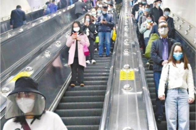 武汉公交地铁都跑起来了 熟悉的都市节奏感又回来了