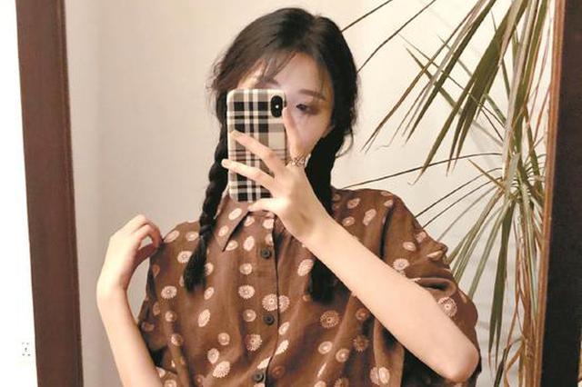 武汉大四美女开网店收获31万粉丝 一天营业额曾超100万元