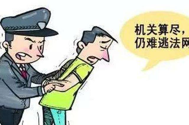 宜城男子逃亡19年被抓 悔恨痛哭愧对过世母亲